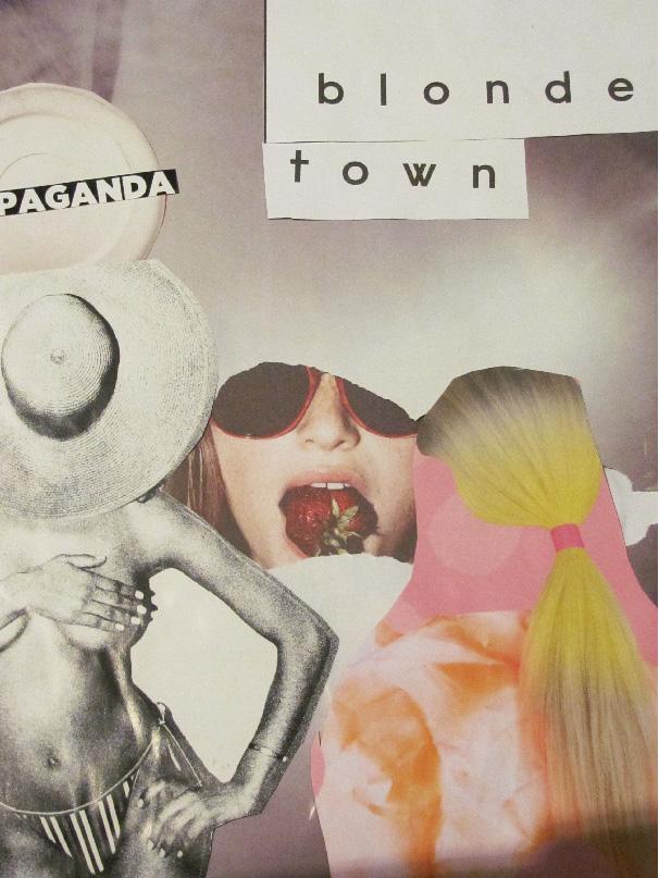 blonde town